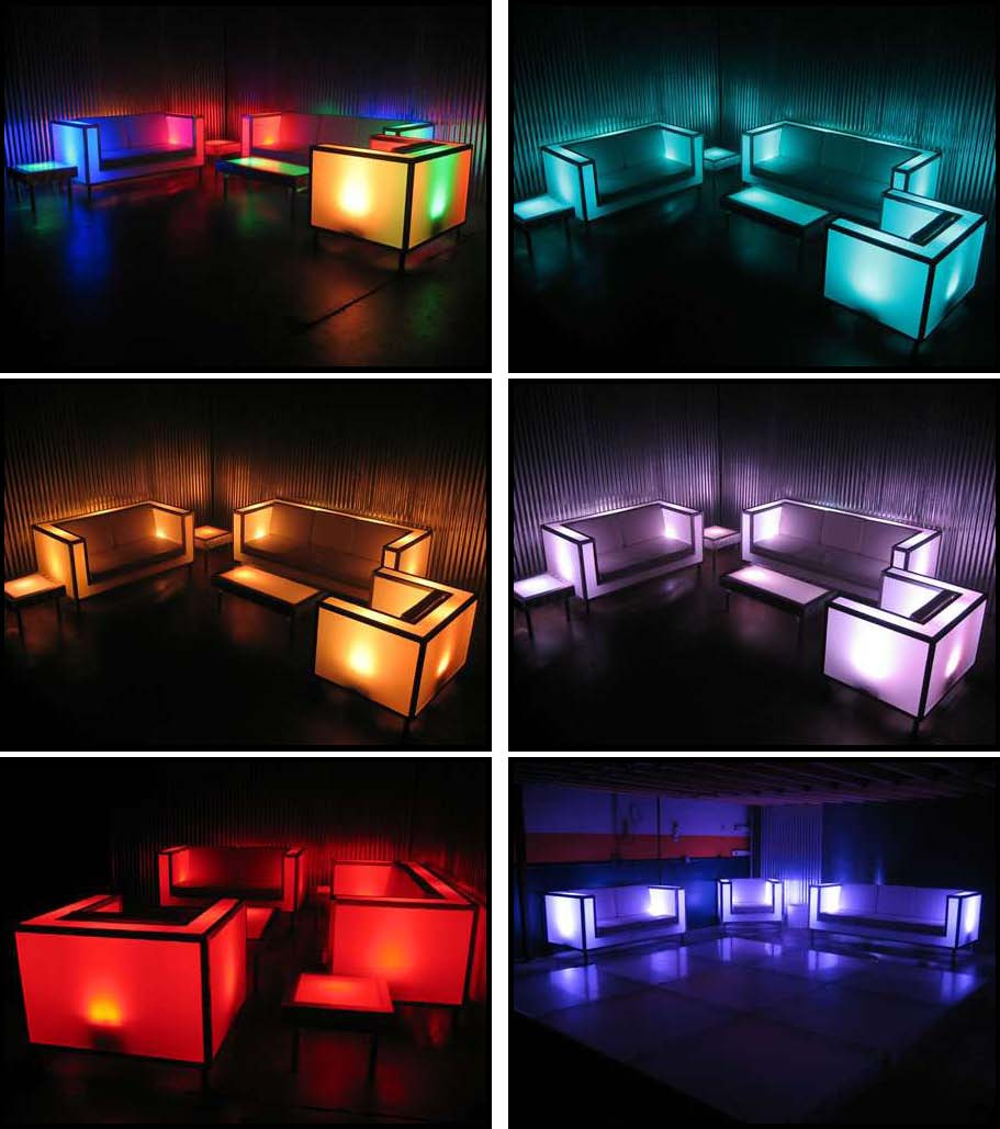 illuminated glow products for events and productions