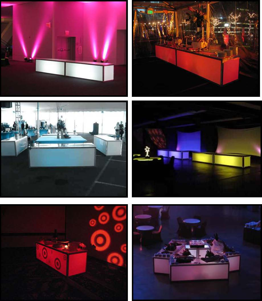 ILLUMINATED LED Buffets