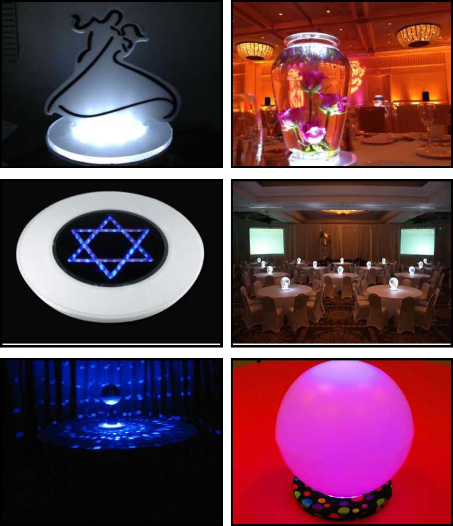 "Props & Products Centerpieces – 10"" LED"