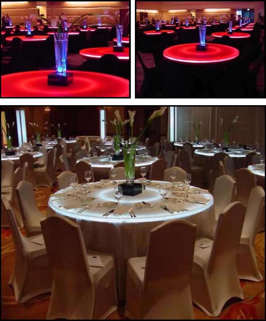 Props & Products Centerpieces - LEDs