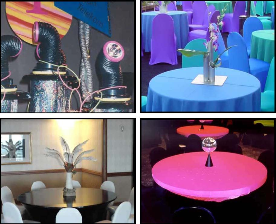 Props & Products Centerpieces - Unlit
